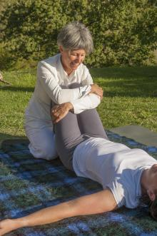 Massage on retreat in Assisi, Italy